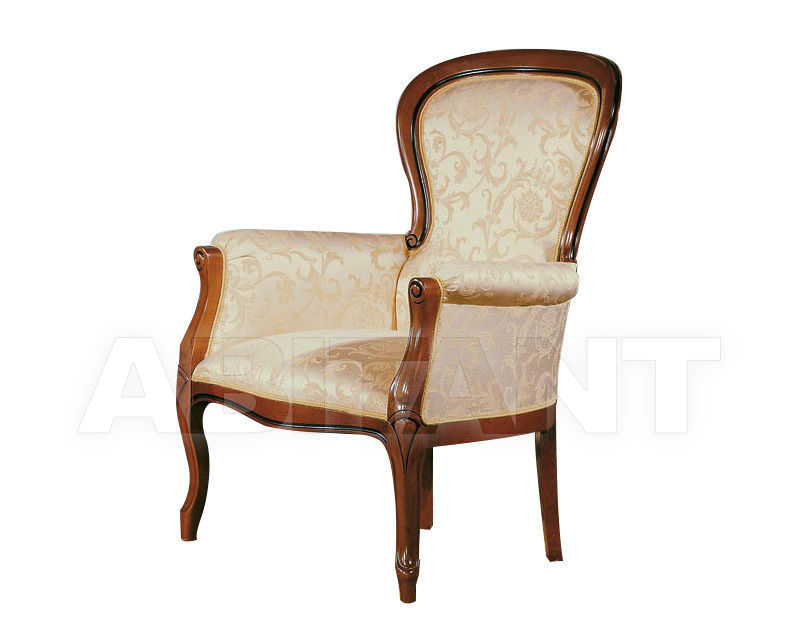 Купить Кресло Seven Sedie Reproductions Ottocento 0217P