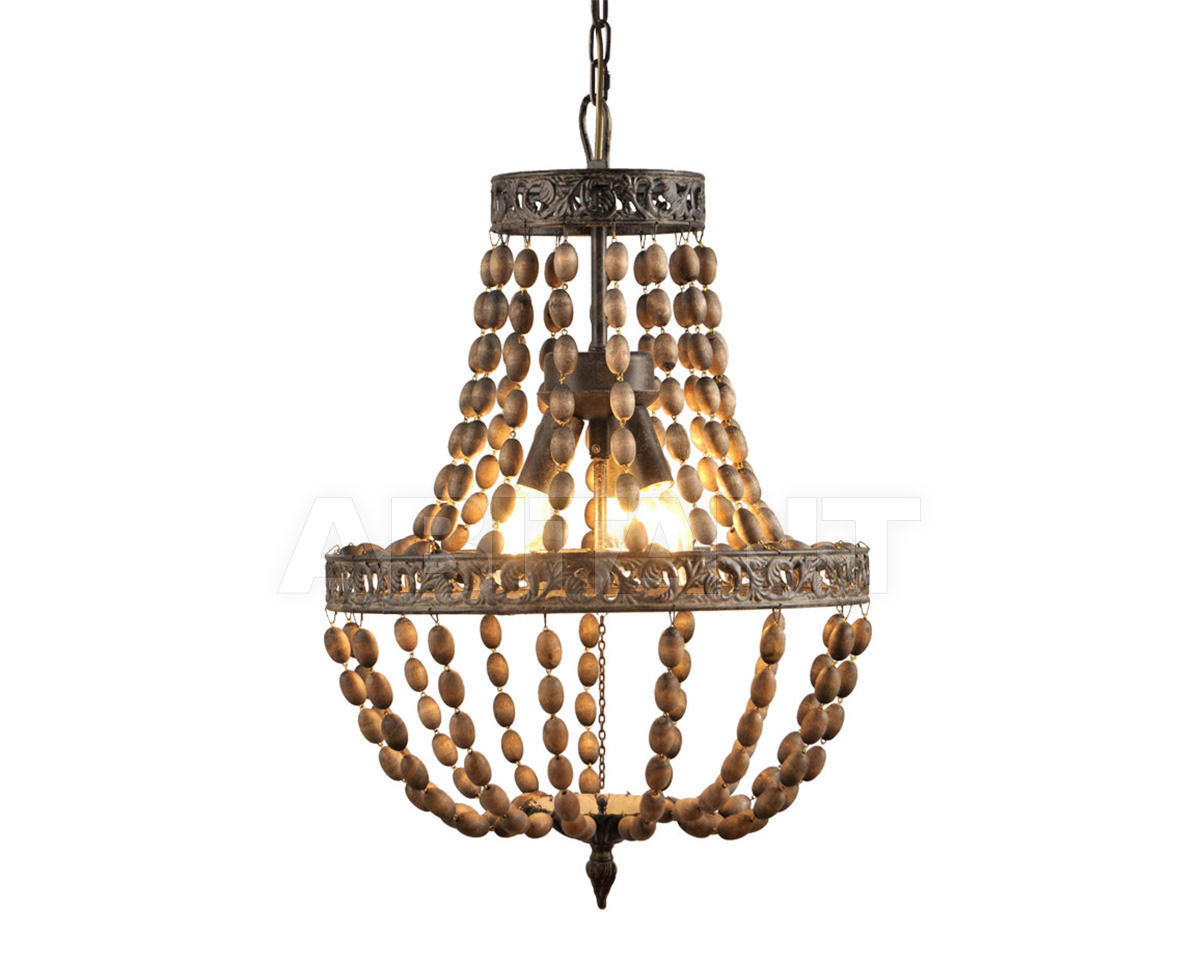 Купить Люстра ACORNS CHANDELIER Gramercy Home 2014 CH007-3-AKD