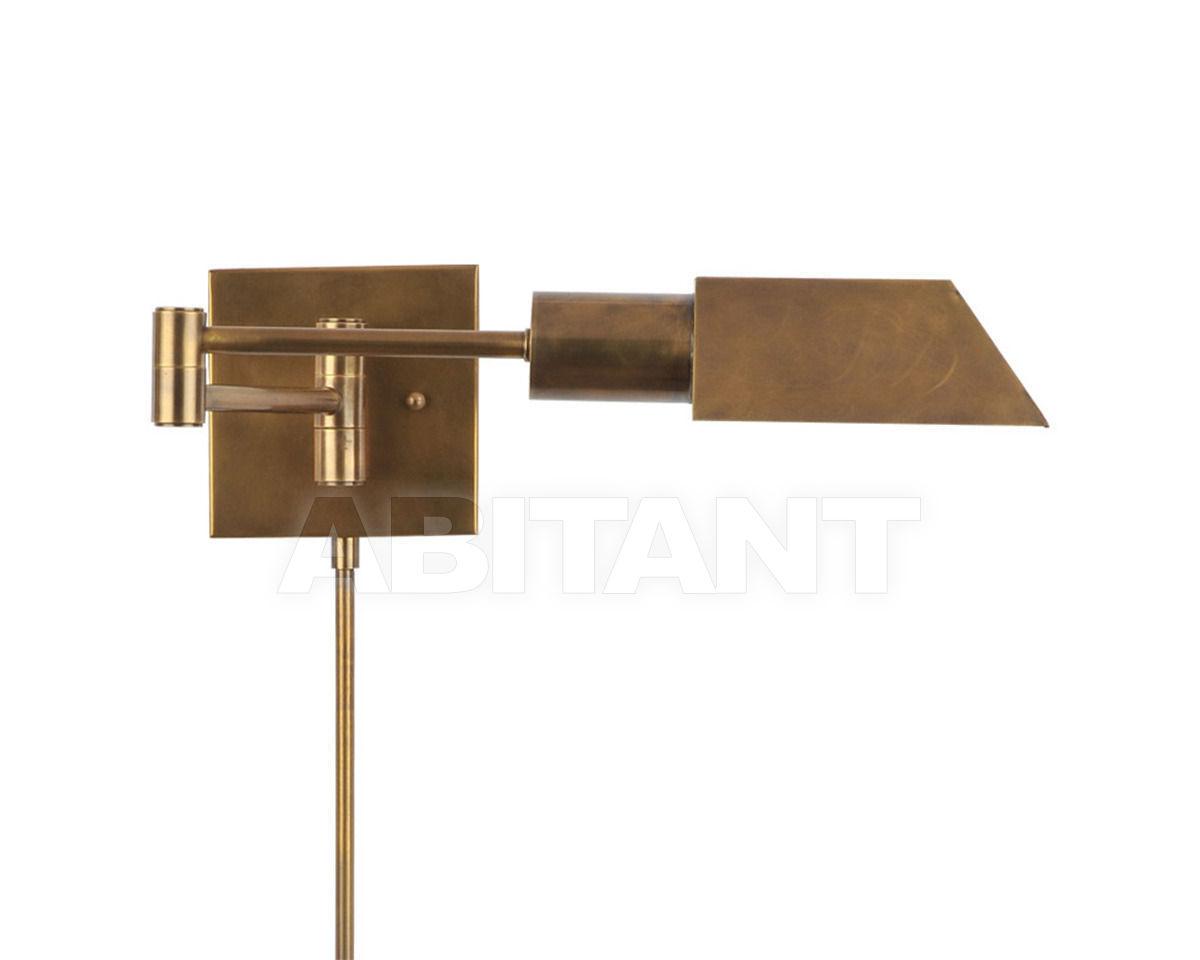 Купить Светильник настенный INDUSTRIAL SWING-ARM SCONCE Gramercy Home 2014 SN020-1-BRS