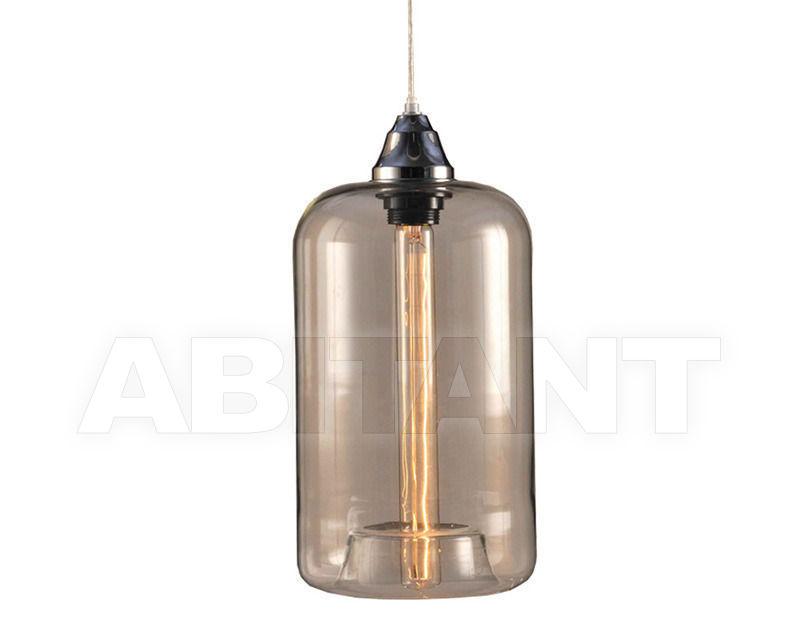 Купить Светильник EDISON CUPPING-GLASS CHANDELIER Gramercy Home 2014 CH025-1-ABG