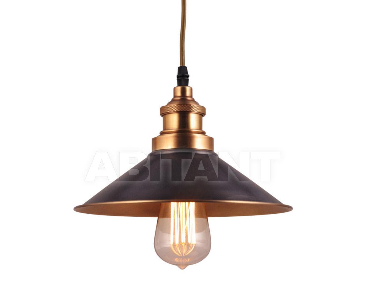 Купить Светильник INDUSTRIAL REFLECTOR CHANDELIER Gramercy Home 2014 CH027-1-BRS
