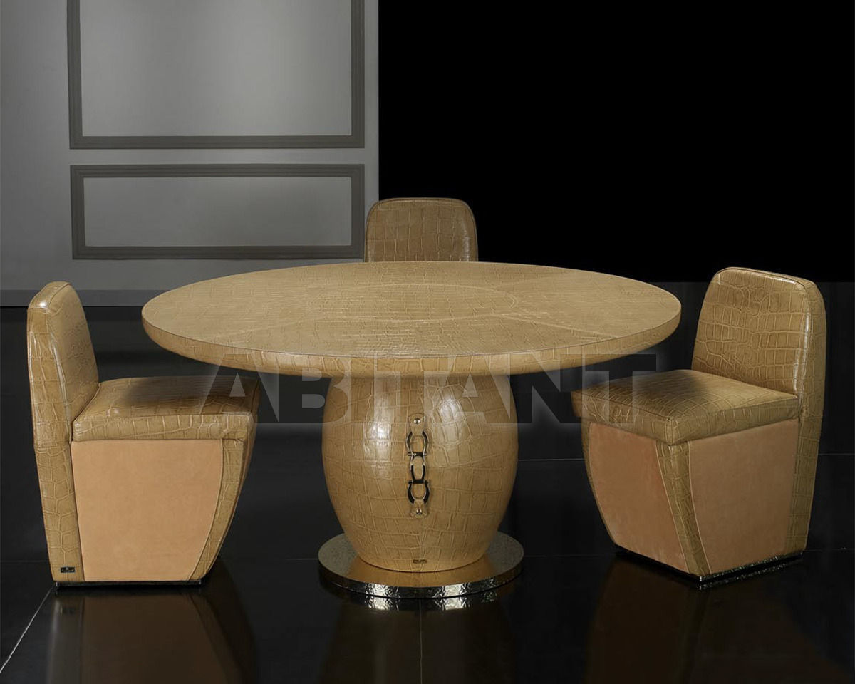 Купить Стол обеденный Formitalia Dining MANHATTAN Dining table round with glass top