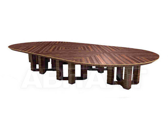 Купить Стол для конференц-залов ETTORE AB1926 Antonio Berdondini srl Historic Collection ETTORE oval table 24