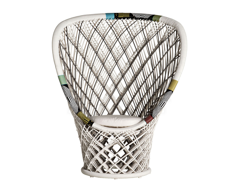 Купить Кресло для террасы PAVO REAL Driade L`arte Di Abitare 9820190