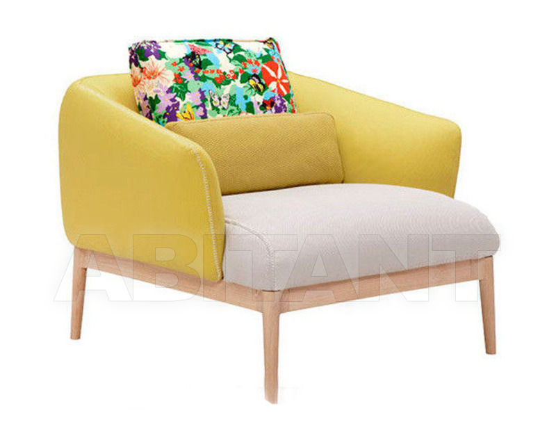 Купить Кресло Amura Magazine 2012 Theo ARMCHAIR yellow