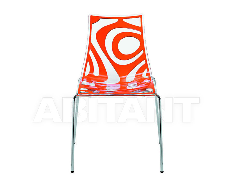 Купить Стул WAVE 4 legs Scab Design / Scab Giardino S.p.a. Collezione 2011 2266 206