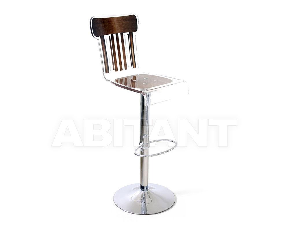 Купить Барный стул Acrila Grand Soir Bistrot barstool pedestal legs Brown