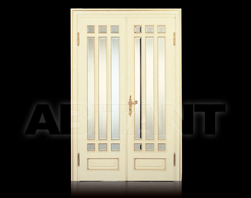 Купить Дверь деревянная Fratelli Radice 2012 P10 doppia porta con vetri molati