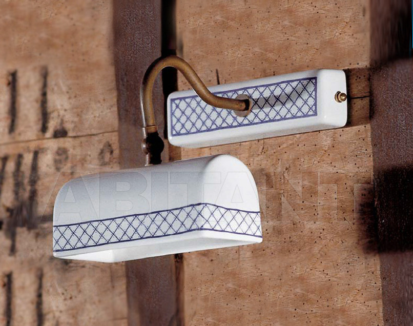 Купить Светильник настенный Aldo Bernardi srl I Classici In Ceramica 9521