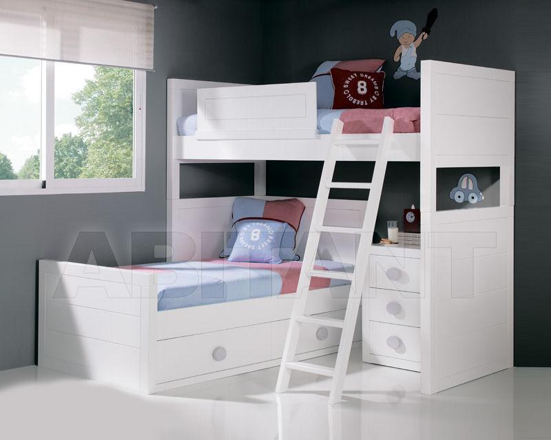 Купить Кровать детская Trebol Juvenil Dinamyc 01.02.242 2