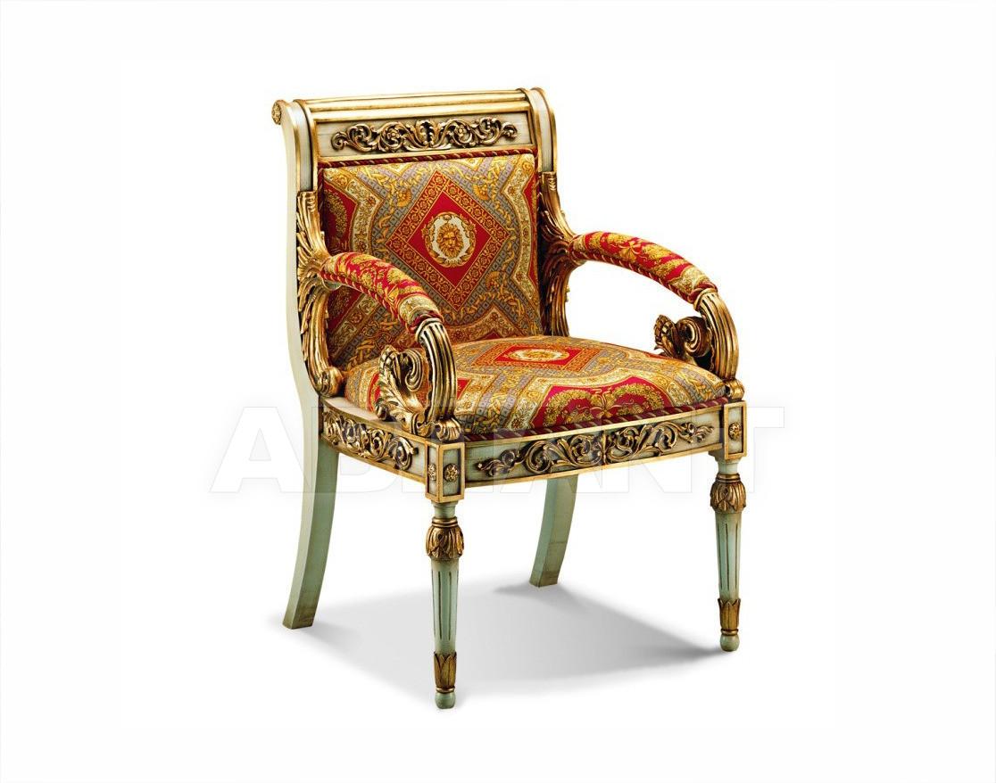 Купить Стул с подлокотниками Francesco Molon Upholstery P186