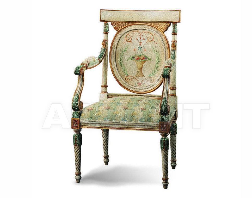 Купить Стул с подлокотниками Francesco Molon Upholstery P366