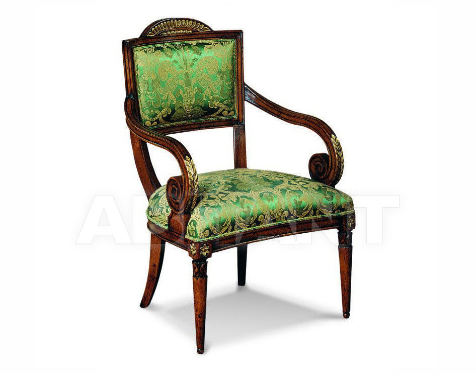 Купить Стул с подлокотниками Francesco Molon Upholstery P214