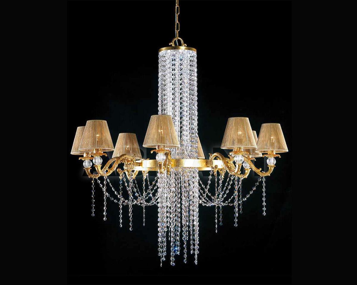 Купить Люстра Lucienne Monique Design 7580/6 oro SWAROVSKI