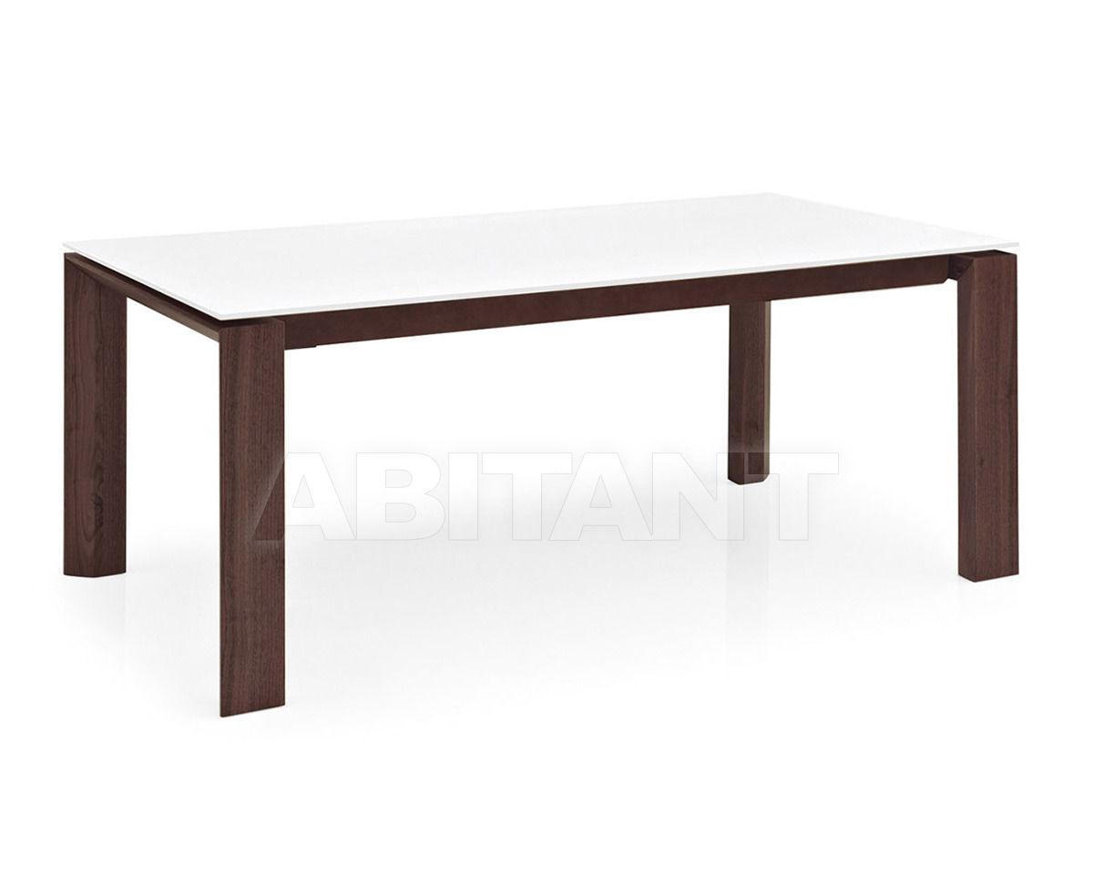 Купить Стол обеденный OMNIA GLASS Calligaris  Dining CS/4058-FLV 200