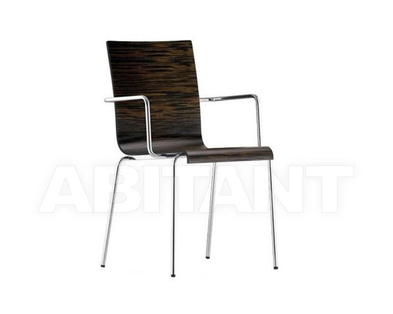 Купить Стул с подлокотниками KUADRA Pedrali 2012 1335 1