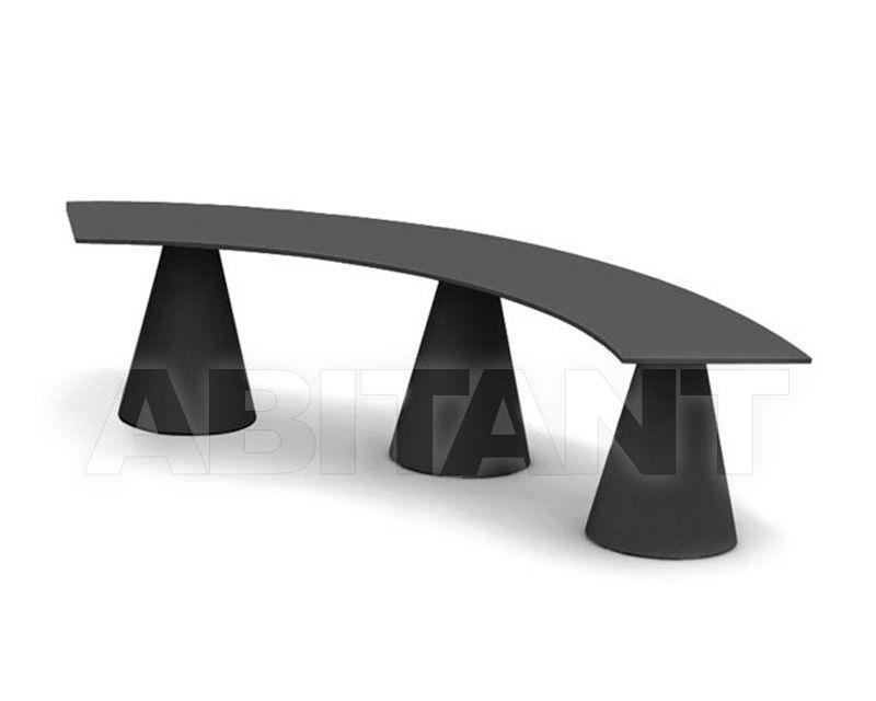 Купить Скамейка IKON Pedrali Keepinghigh B863_1C black