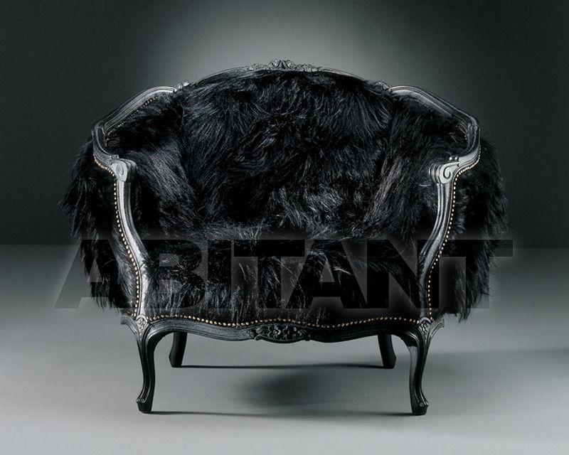 Купить Кресло QUEEN KONG Fratelli Boffi Nero Corallo Specchio 4800
