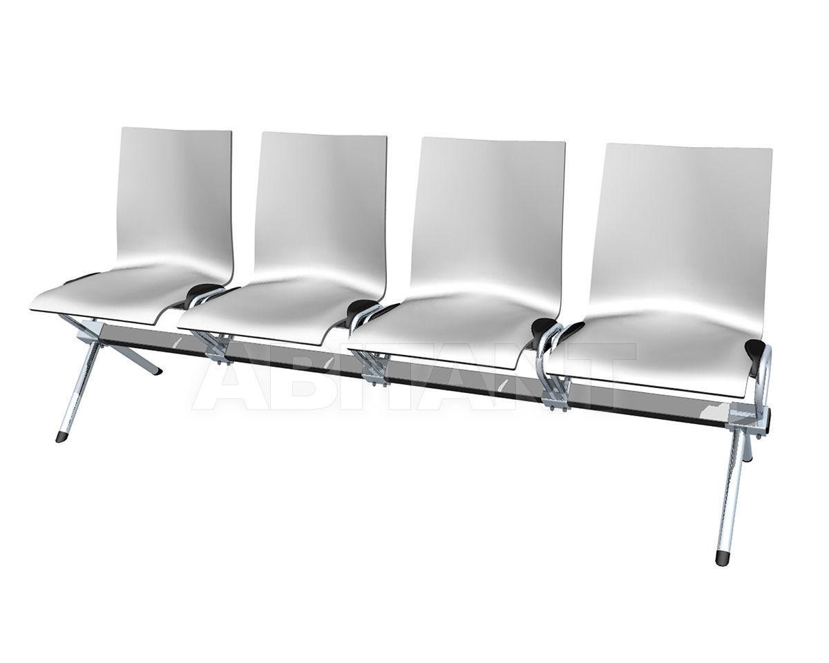 Купить Кресла для залов ожидания Hiller Möbel 2013 logochair-bänke 199 b00
