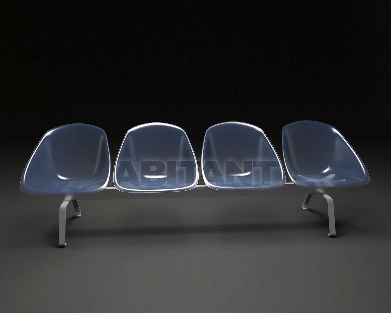 Купить Кресла для залов ожидания Paolo Castelli  Domodinamica MAIL 3 SEATERS