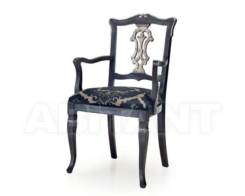 Купить Стул с подлокотниками Seven Sedie Reproductions I Veneziani 0174A