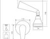 Схема Душевая система Giulini Kellygreen 2915WB Современный / Скандинавский / Модерн