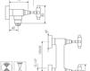 Схема Смеситель настенный Giulini G5 7907WS Современный / Скандинавский / Модерн