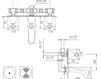 Схема Смеситель настенный Giulini Lotus 0503 Современный / Скандинавский / Модерн
