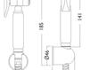 Схема Лейка душевая Giulini Programma Docce SH03 Современный / Скандинавский / Модерн