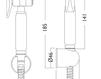 Схема Лейка душевая Giulini Programma Docce SH01 Современный / Скандинавский / Модерн