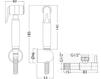 Схема Лейка душевая Giulini Programma Docce SH07 Современный / Скандинавский / Модерн