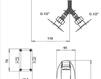 Схема Смеситель для раковины Giulini ComunitÀ FTL001 Современный / Скандинавский / Модерн