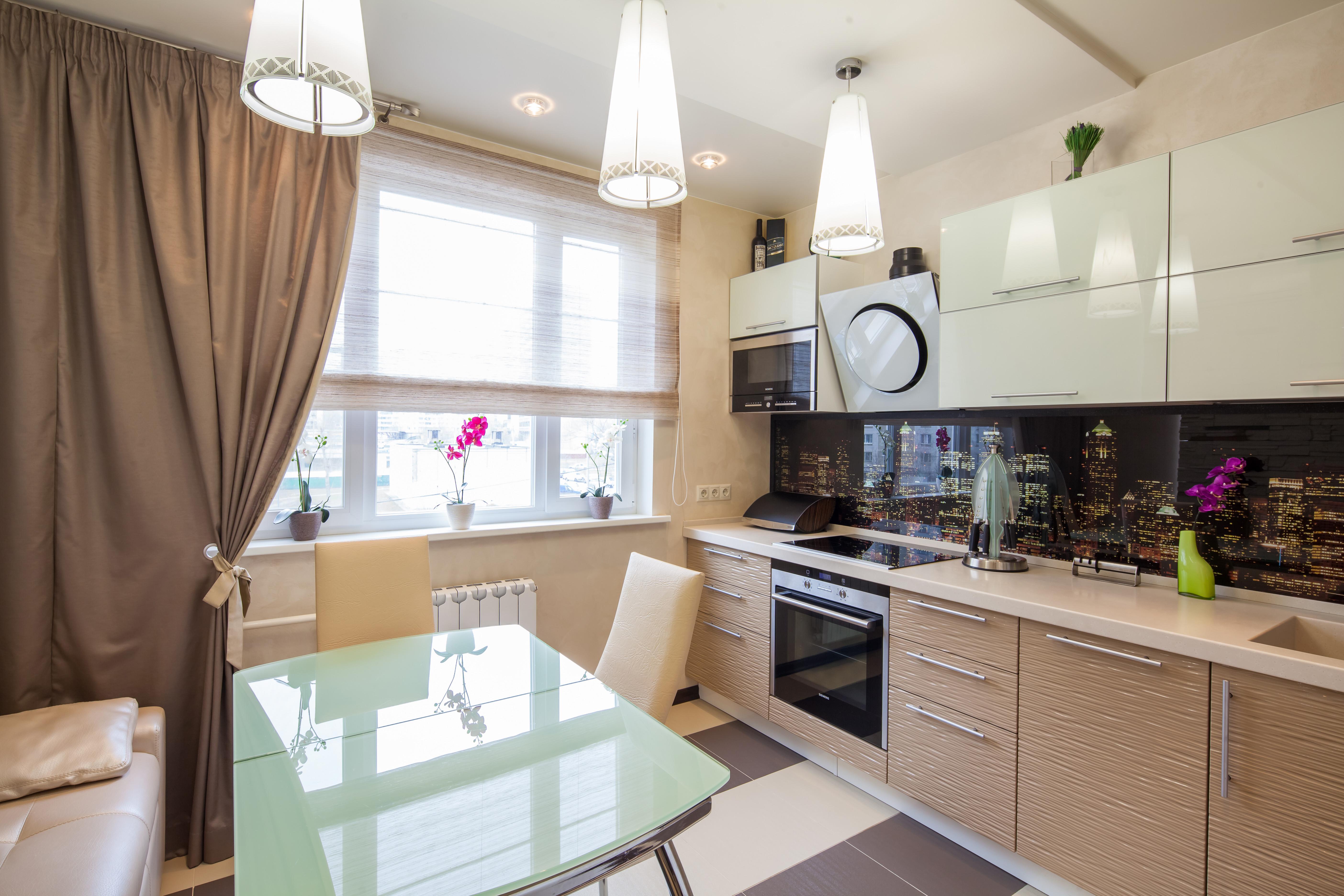 Дизайн кухни 10 кв м - выбор удобной планировки и обустройст.