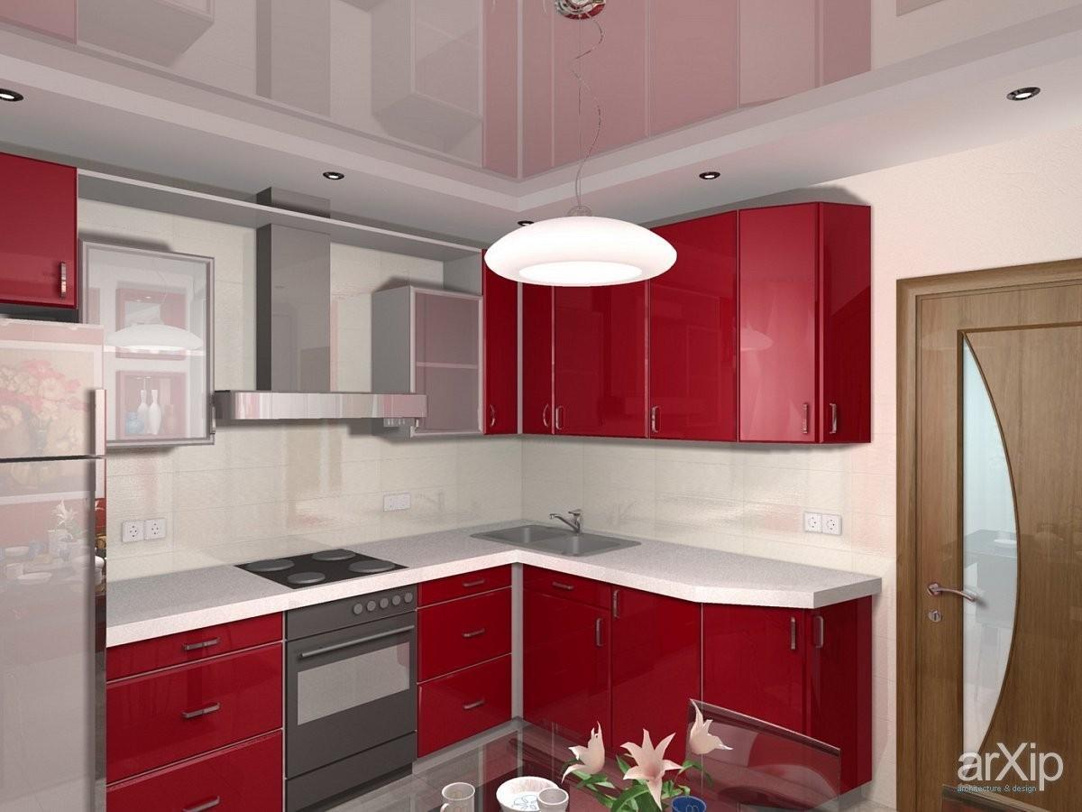 Кухня 4 метра интерьер