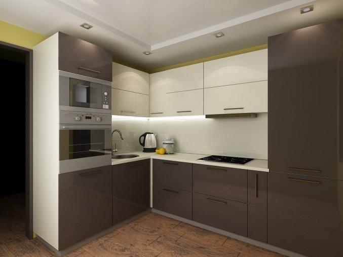 Дизайн кухни 121 серии фото