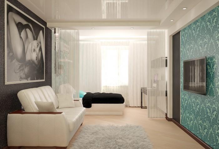 Уютный дизайн зала в квартире