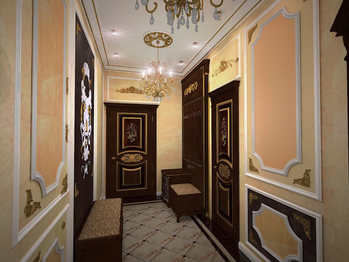 входные двери в квартиру классического стиля