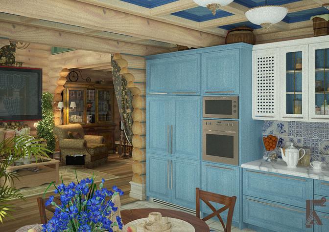 Кухня в деревне фото