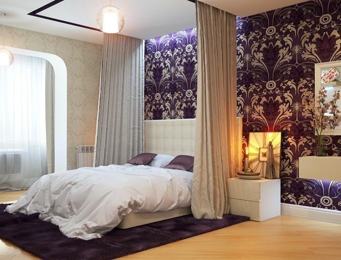 Балдахины в спальне