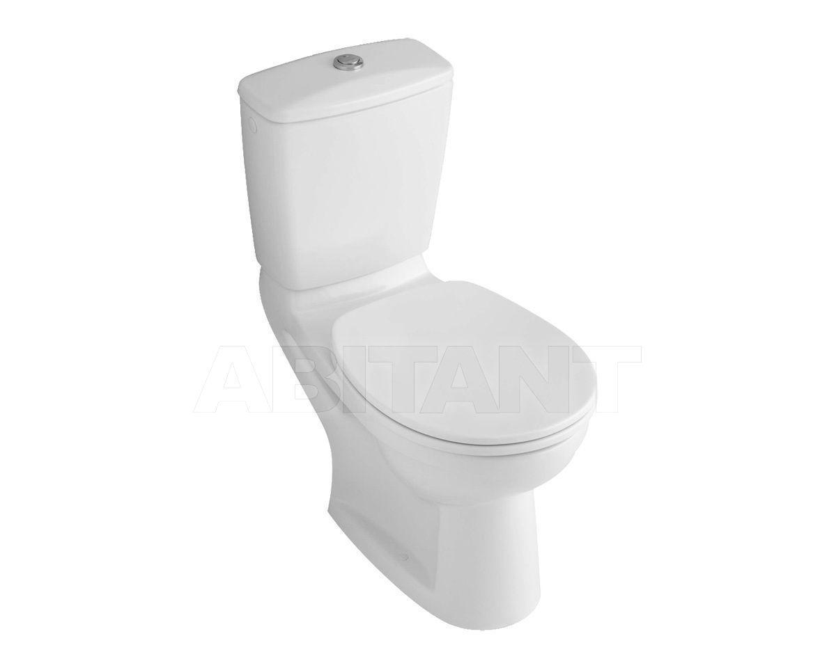 Купить Унитаз напольный O.NOVO Villeroy & Boch Bathroom and Wellness 6C59 01 + 7D19 21
