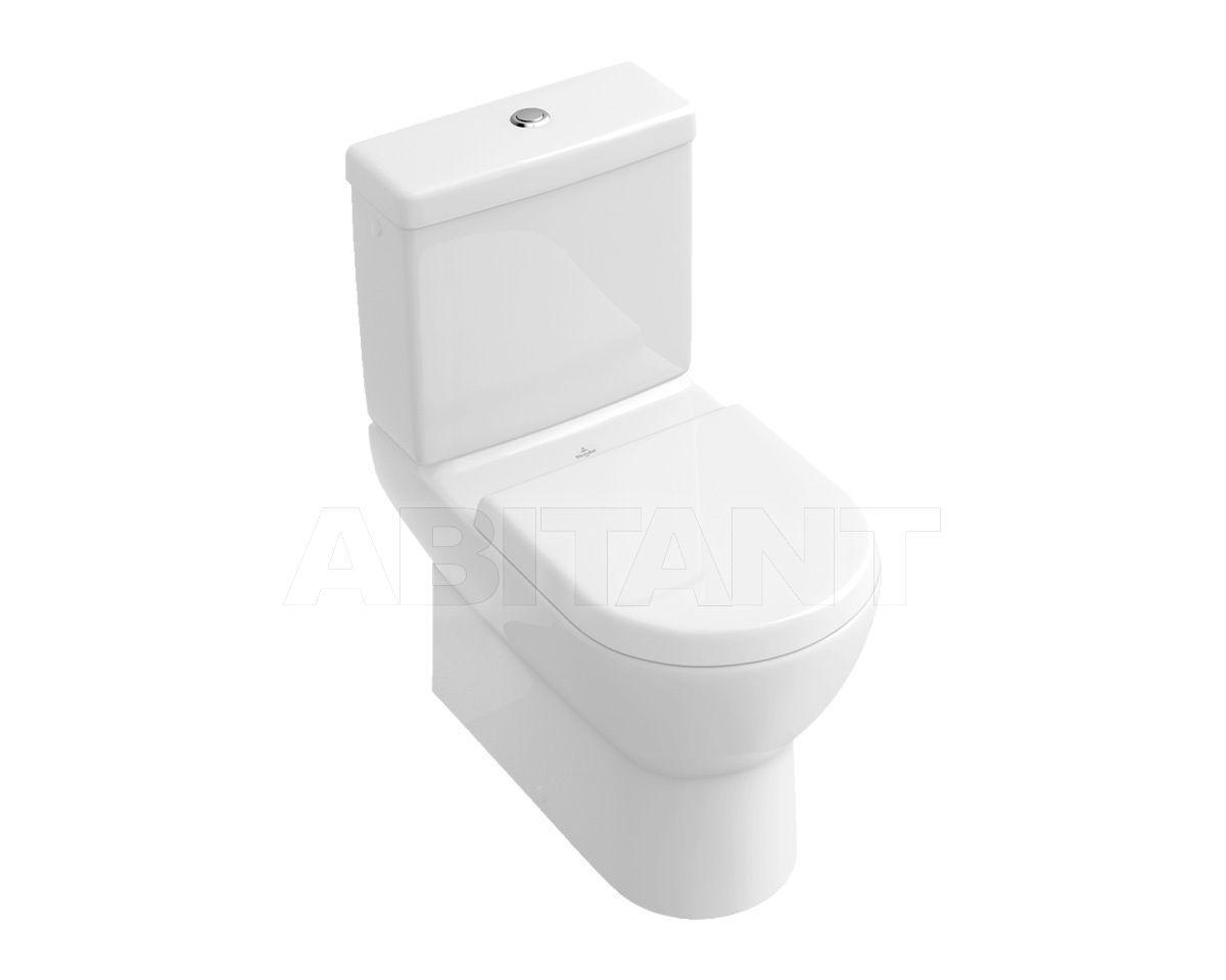 Купить Унитаз напольный SUBWAY Villeroy & Boch Bathroom and Wellness 6610 10 + 7723 11