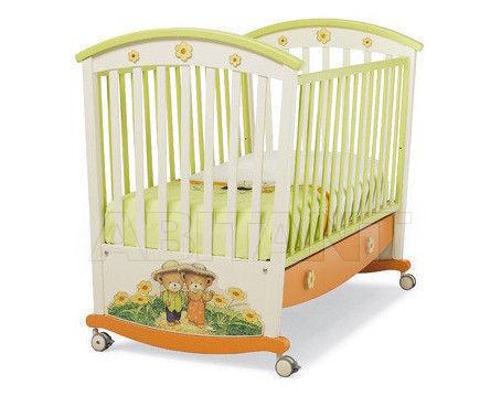Купить Кроватка Erbesi Collezione 2012 Giramondo Lettino