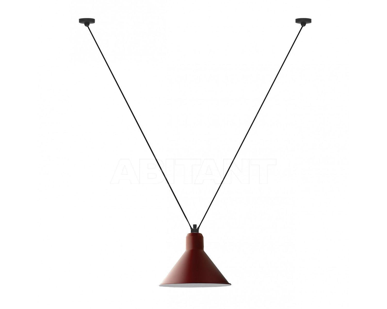 Купить Светильник La Lampe Gras by DCW éditions GRAS LAMPS 323 RED CONIC XL