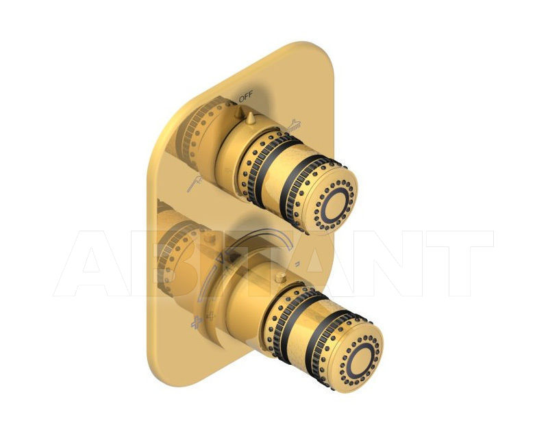 Купить Смеситель термостатический THG MONTE CARLO PORCELAINE OR U8B.5500B