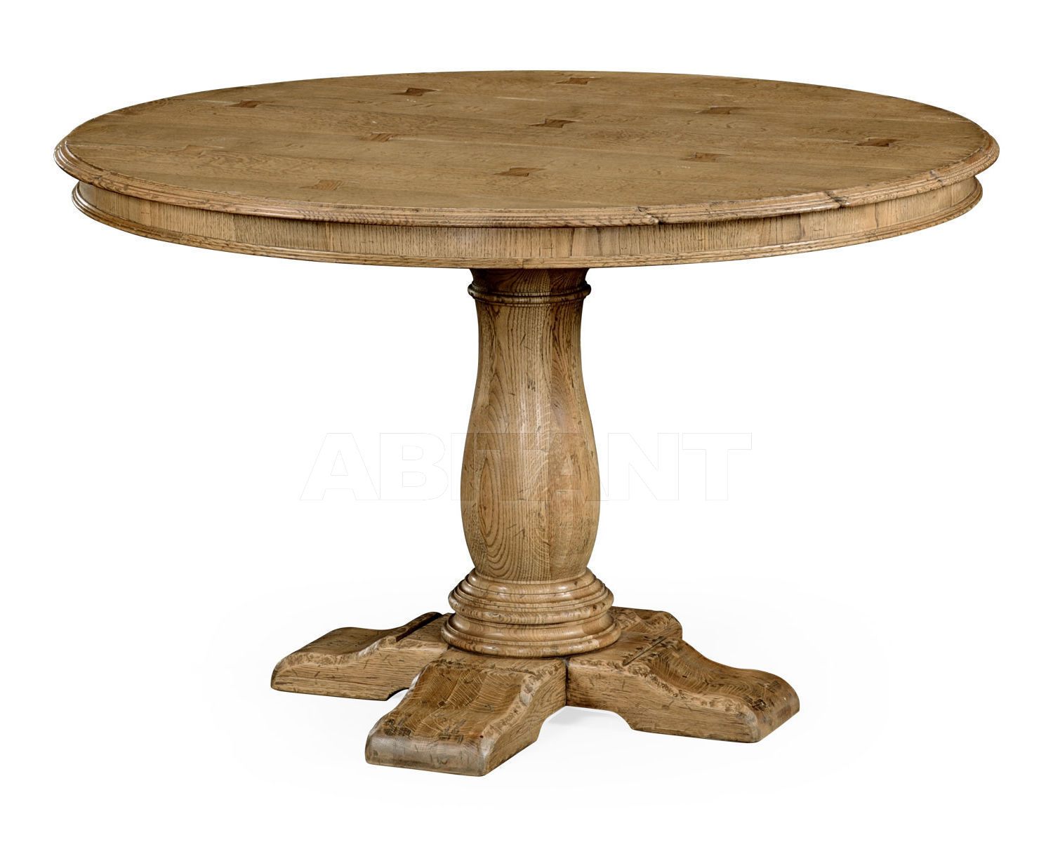 Купить Стол обеденный French country Jonathan Charles Fine Furniture Natural Oak 493247-48D-L