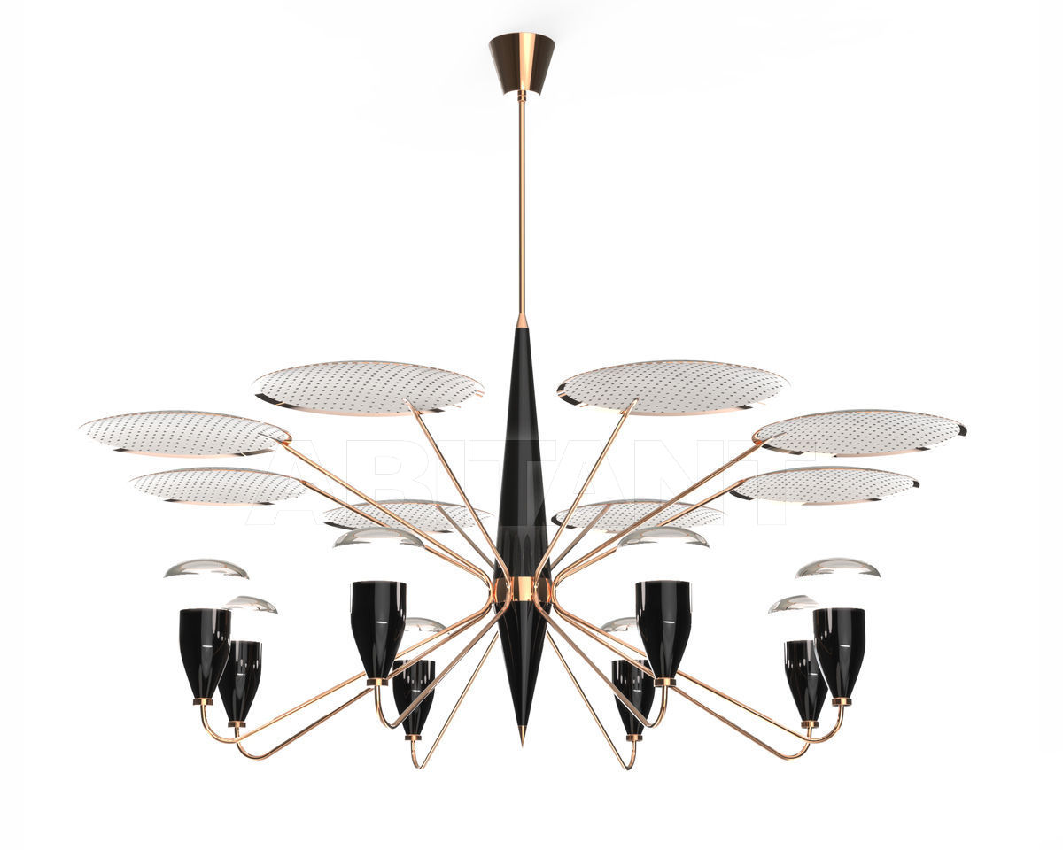 Купить Люстра Delightfull by Covet Lounge Suspension PEGGY Copper