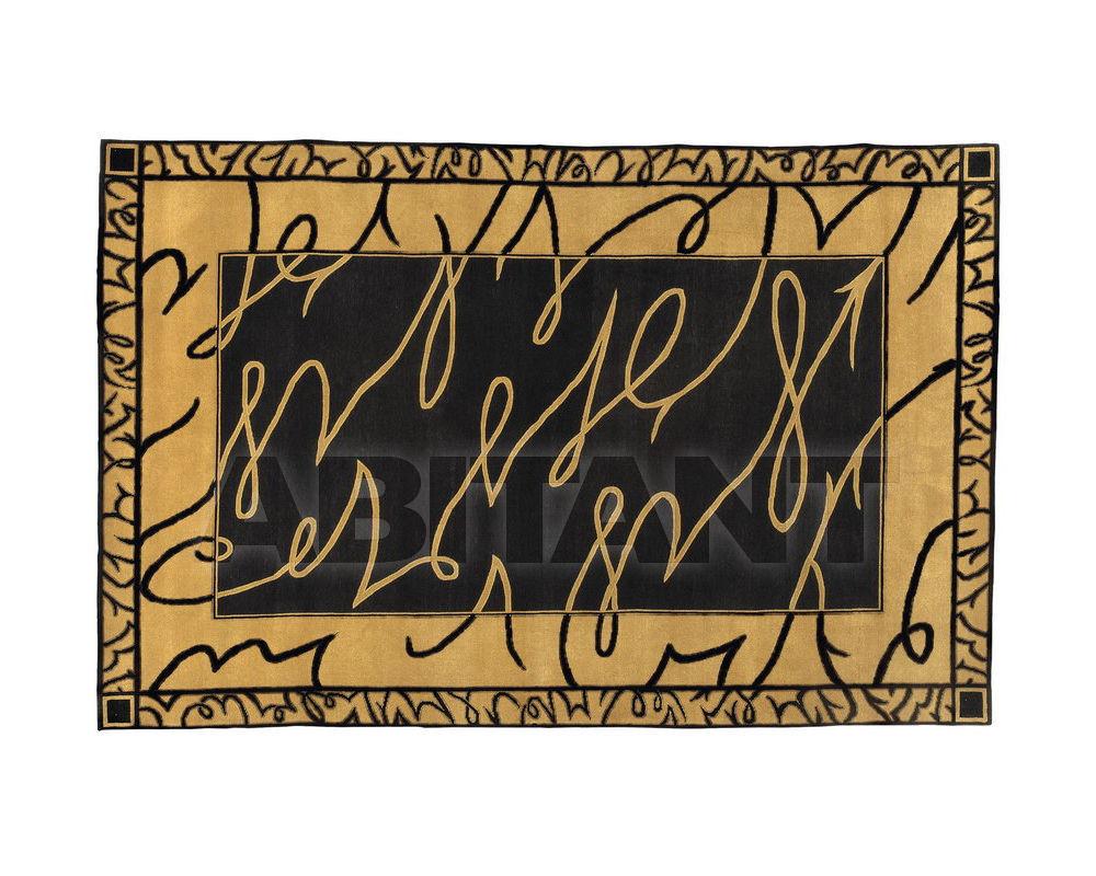 Купить Ковер современный Colombostile s.p.a. Transculture/noir Et Or 1756 TP-B