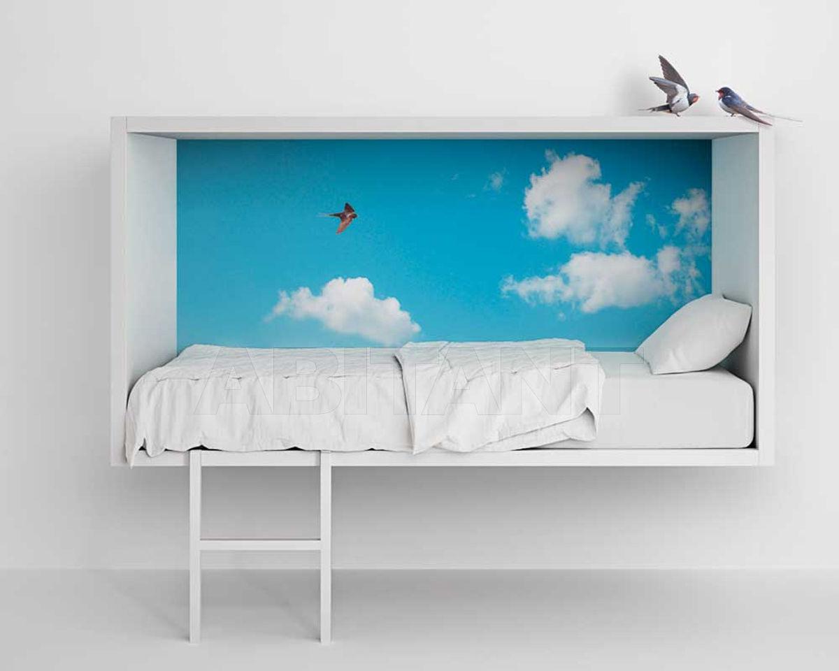 Купить Кровать детская Cloud Lago 2016 LIVING&BEDROOM Cloud_bed_0284