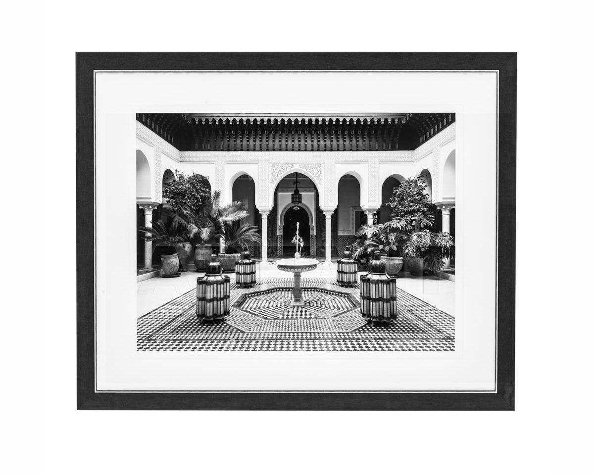 Купить Картина Courtyard Eichholtz  WALL DECORATIONS 110870