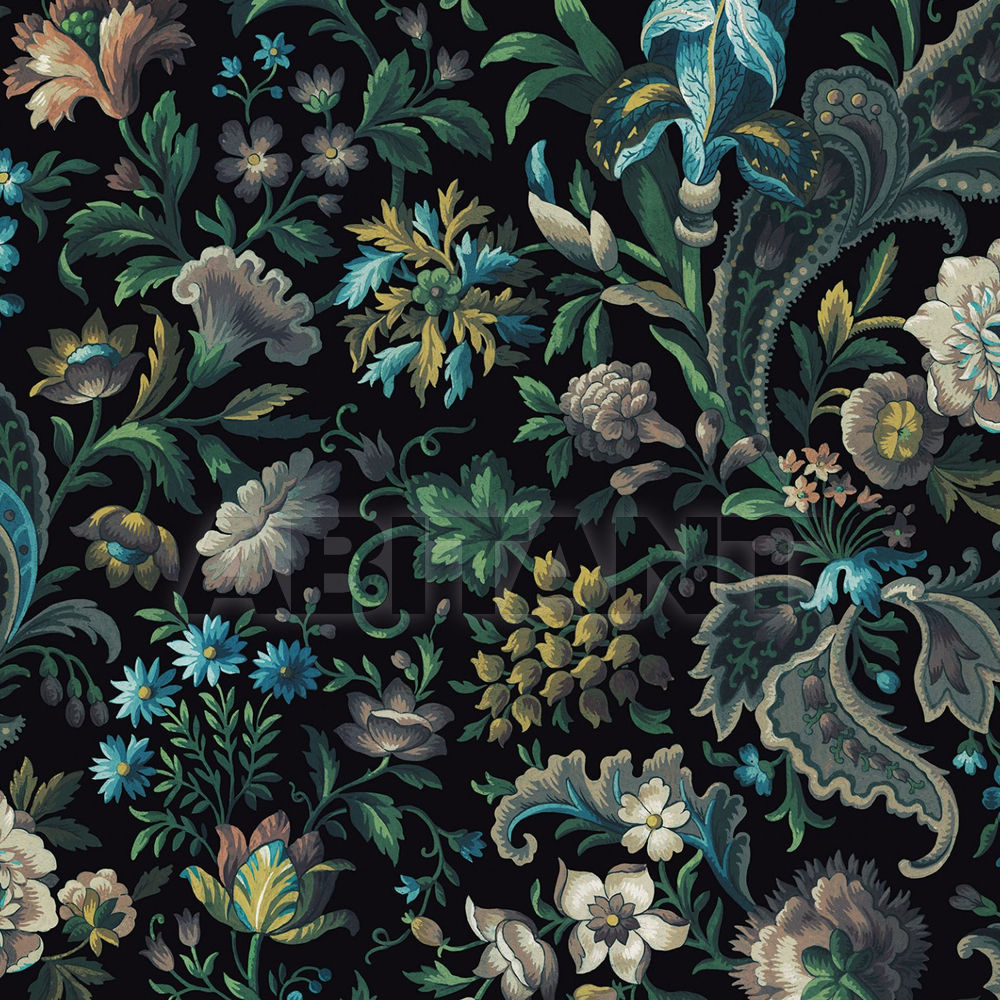 Купить Флизелиновые обои FLORIKA  Henry Bertrand Ltd Wallpaper 1-WA-FLO-DI-ONX-XXX-003